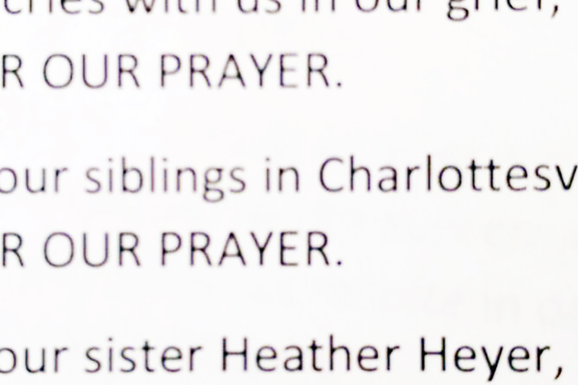 Prayer for Charlottesville