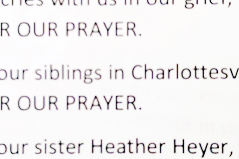 A Prayer for our Siblings in Charlottesville