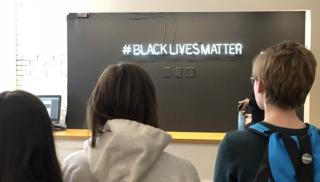 Boston Pilgrimage BLM